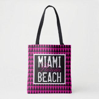 Bolso De Tela Miami Beach la Florida PBTF
