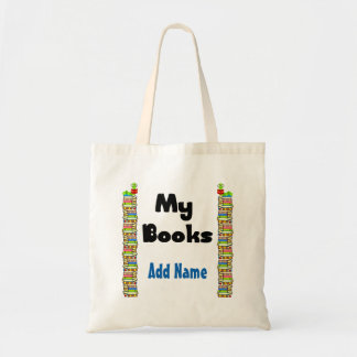 Bolso De Tela Mis libros