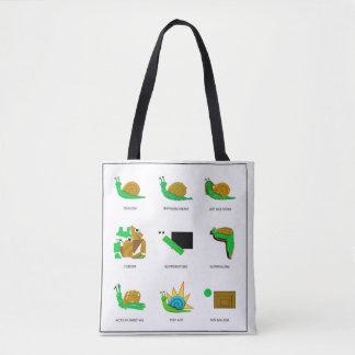 Bolso De Tela Moda del caracol