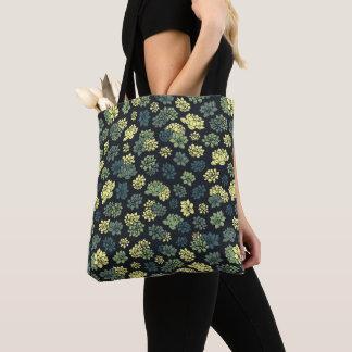 Bolso De Tela Modelo de los Succulents