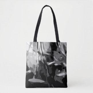 Bolso De Tela Modelo gris blanco negro de moda de Camo