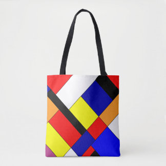 Bolso De Tela Mondriaan #9