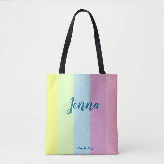 Bolso De Tela Monedero en colores pastel de los chicas de la