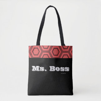 Bolso De Tela Ms Boss