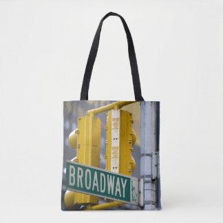 Bolso De Tela Muestra de Broadway