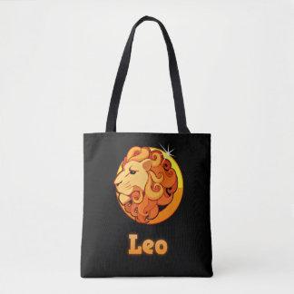 Bolso De Tela Muestra del zodiaco de Leo