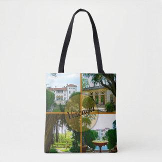 Bolso De Tela Museo y jardín botánico Miami la Florida de