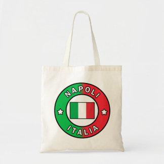 Bolso De Tela Napoli Italia