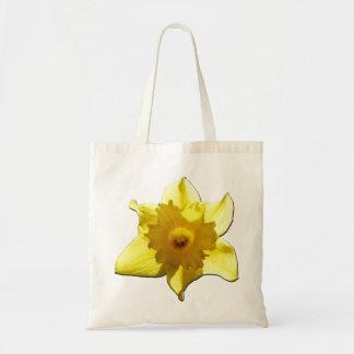 Bolso De Tela Narciso 1,0 de la trompeta amarilla