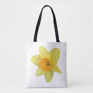 Bolso De Tela Narciso amarillo de la primavera