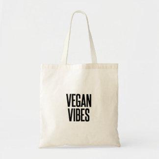Bolso De Tela Navidad divertido de la sensación del vegano