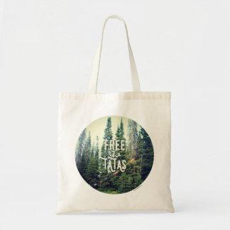 Bolso De Tela Ningunos sujetadores permitidos en el bosque