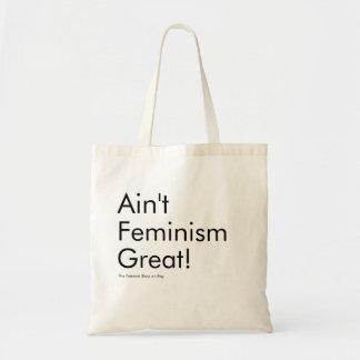 Bolso De Tela No es el feminismo grande