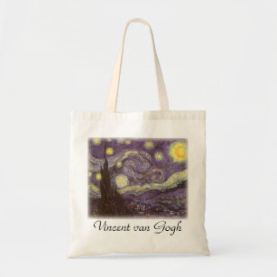 29d946f0c Gogh Tela es Estrellada Van Zazzle Noche De Bolsos XwBqS