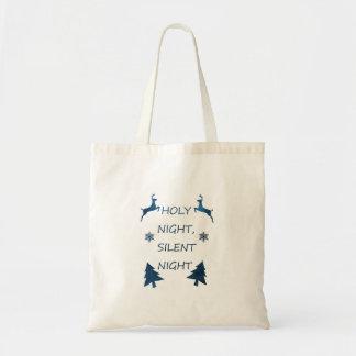 Bolso De Tela Noche santa, noche silenciosa