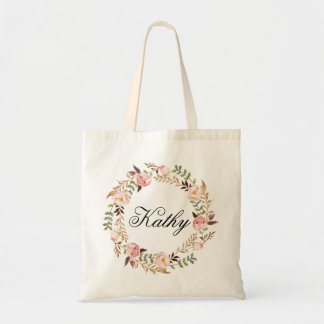 Bolso De Tela Nombre de encargo Wedding|Personalized Braidsmaid