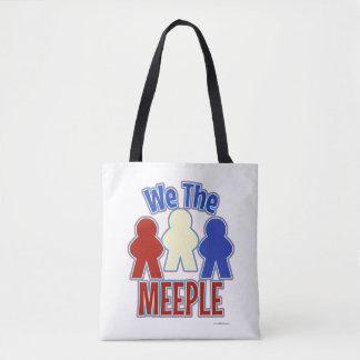 Bolso De Tela Nosotros el juego del tablero de la mesa de Meeple