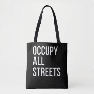 Bolso De Tela Ocupe todas las calles
