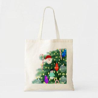 Bolso De Tela Oh árbol de navidad