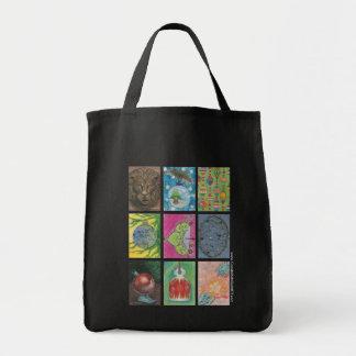 Bolso De Tela Ornamentos de los artistas múltiples