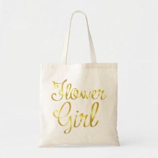 Bolso De Tela Oro del florista