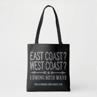 Bolso De Tela Oscilación de la costa oeste el | de la costa este