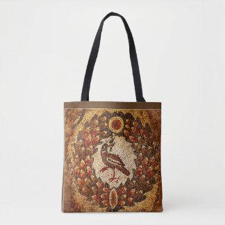 Bolso De Tela Pájaro bizantino