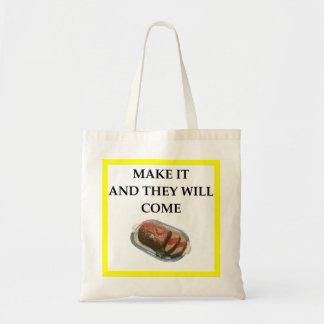 Bolso De Tela pan con carne