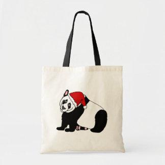 Bolso De Tela Panda de Santa