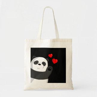 Bolso De Tela Panda linda