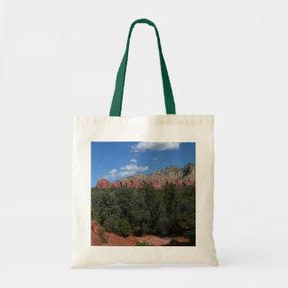 Bolso De Tela Panorama de rocas rojas en Sedona Arizona
