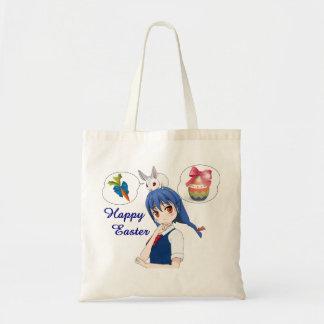 Bolso De Tela Pascua feliz (costumizable)