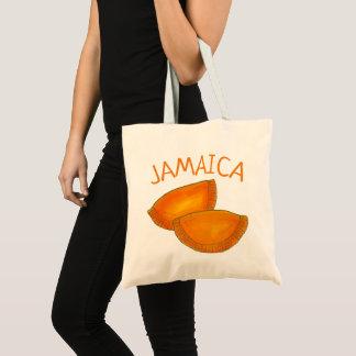 Bolso De Tela Pasteles picantes jamaicanos de Jamaica de las
