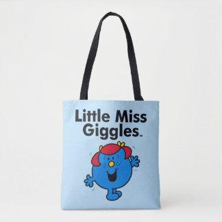 Bolso De Tela Pequeña pequeña Srta. Giggles Likes To Laugh de la