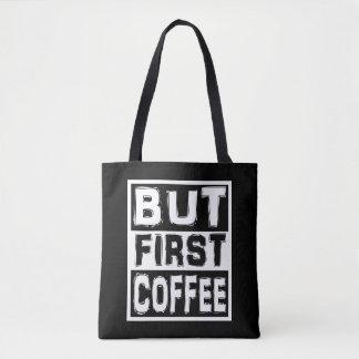Bolso De Tela Pero primer café
