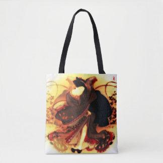 """Bolso De Tela perrito rojo """"belleza en un campo del otoño """""""