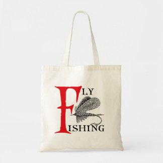 Bolso De Tela Pesca con mosca con señuelo de la pesca