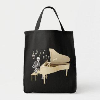 Bolso De Tela Pianista esquelético