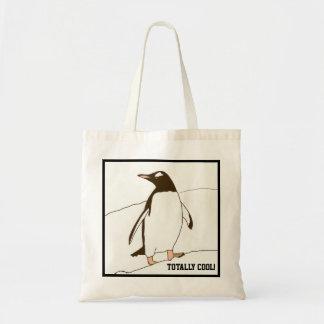 Bolso De Tela Pingüino