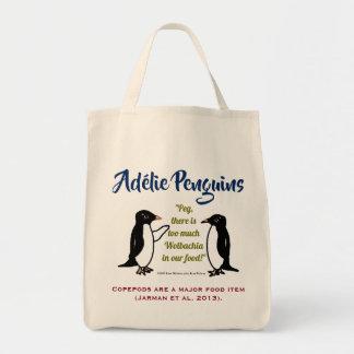Bolso De Tela Pingüinos de Adélie por RoseWrites