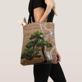 Bolso De Tela Pino de los bonsais