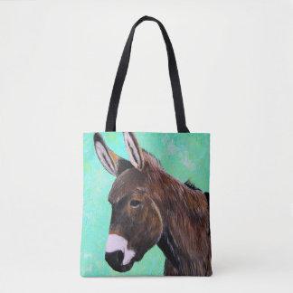 Bolso De Tela Pintura del burro
