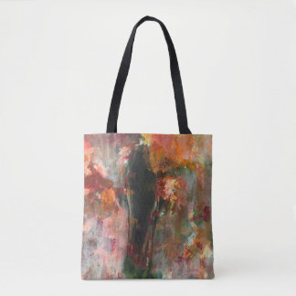Bolso De Tela Pintura figurada gótica, arte abstracto del