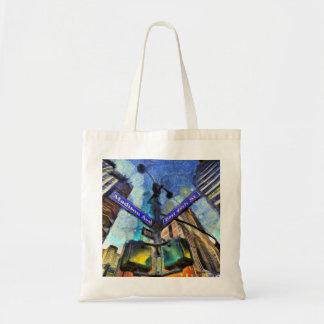 Bolso De Tela Placa de calle Van Gogh de Nueva York