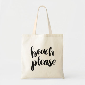 Bolso De Tela Playa