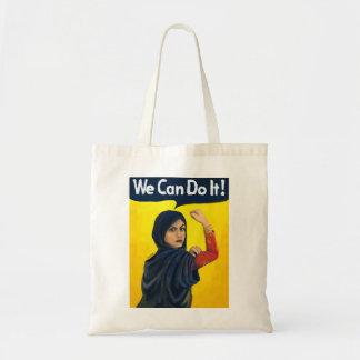 Bolso De Tela Podemos hacerlo, mujer de Oriente Medio