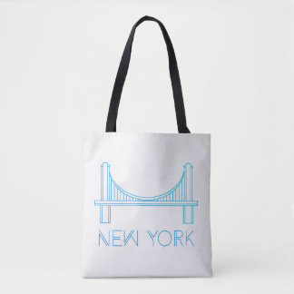 Bolso De Tela Puente de Brooklyn el | New York City