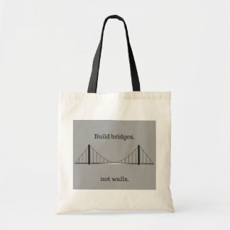 Bolso De Tela Puentes de la estructura, no tote de las paredes