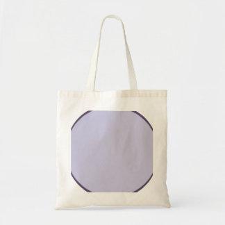 Bolso De Tela Punto de la lila