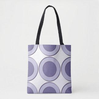 Bolso De Tela Puntos de PurpleInLilac